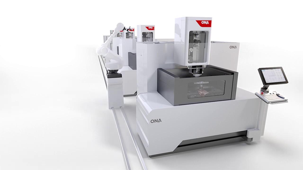 مراحل ماشینکاری و ساخت دیسک توربین با استفاده از دستگاه برش سیمی [فیلم]
