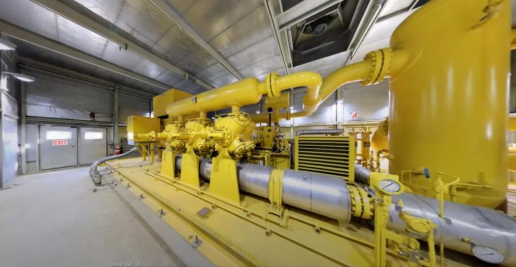 تور مجازی زیمنس انرژی از سه نیروگاه شاخص