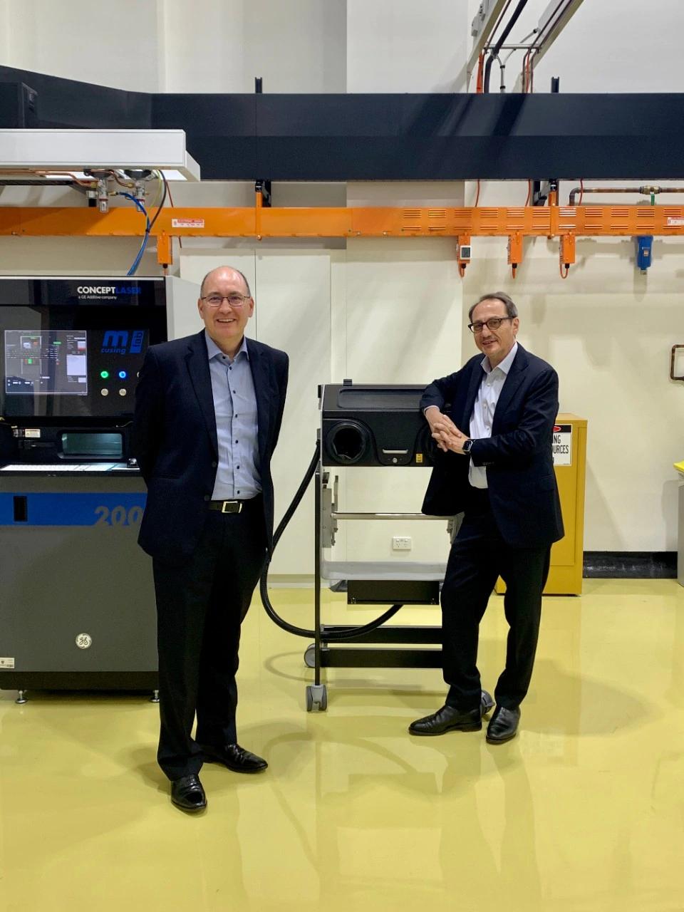 همکاری جنرال الکتریک و دانشگاه سیدنی در حوزه چاپ سه بعدی فلزی