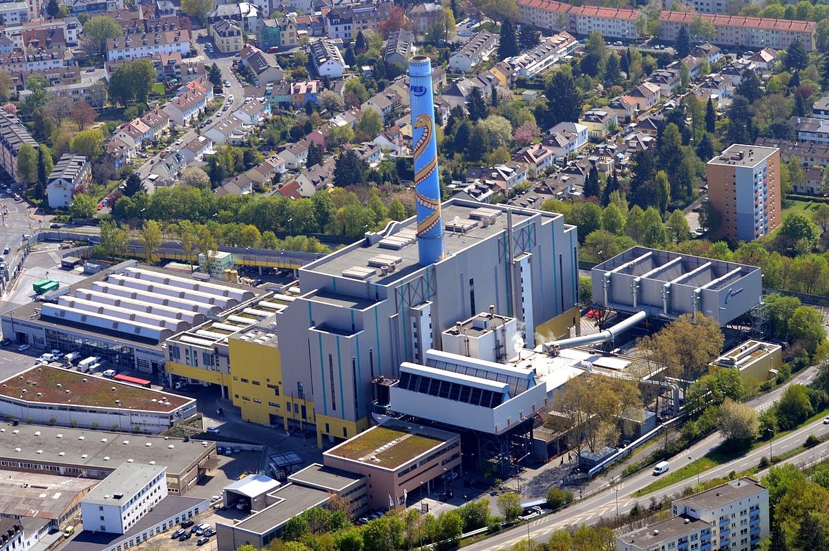 تولید هیدروژن از زباله در فرانکفورت آلمان