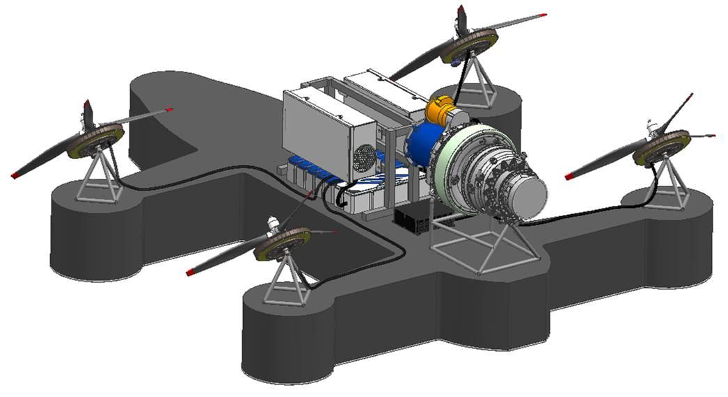 موتور هیبریدی روسی با توان 680 اسب بخار برای مصارف هوایی