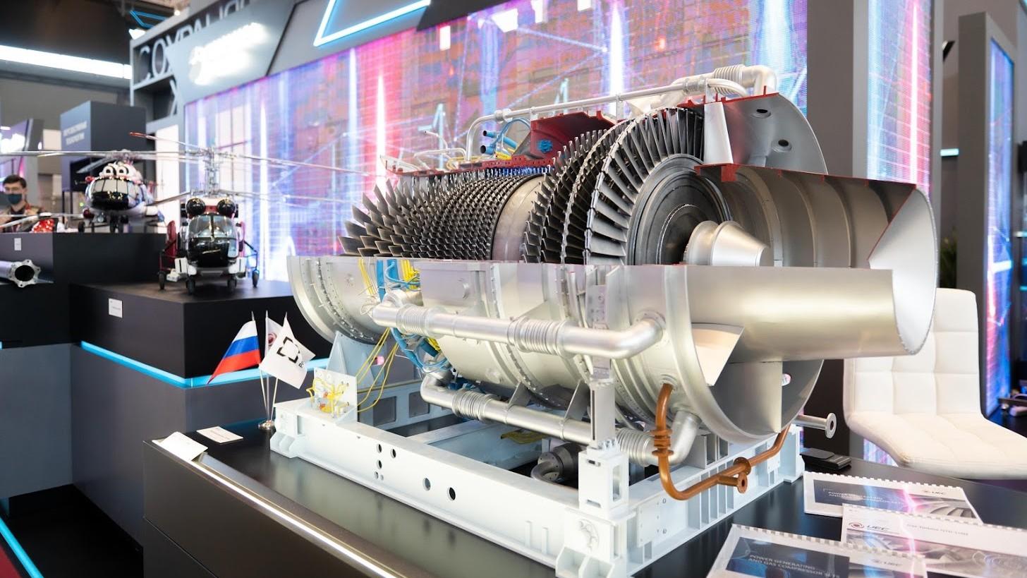 عرضه توربین گازی پرقدرت روسیه در نمایشگاههای بینالمللی