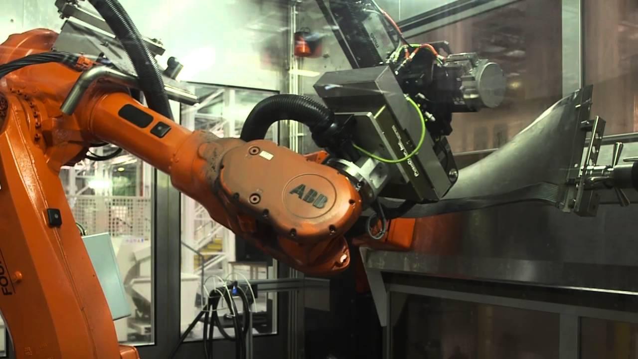فرآیندهای اصلی ساخت پره فن [فیلم]