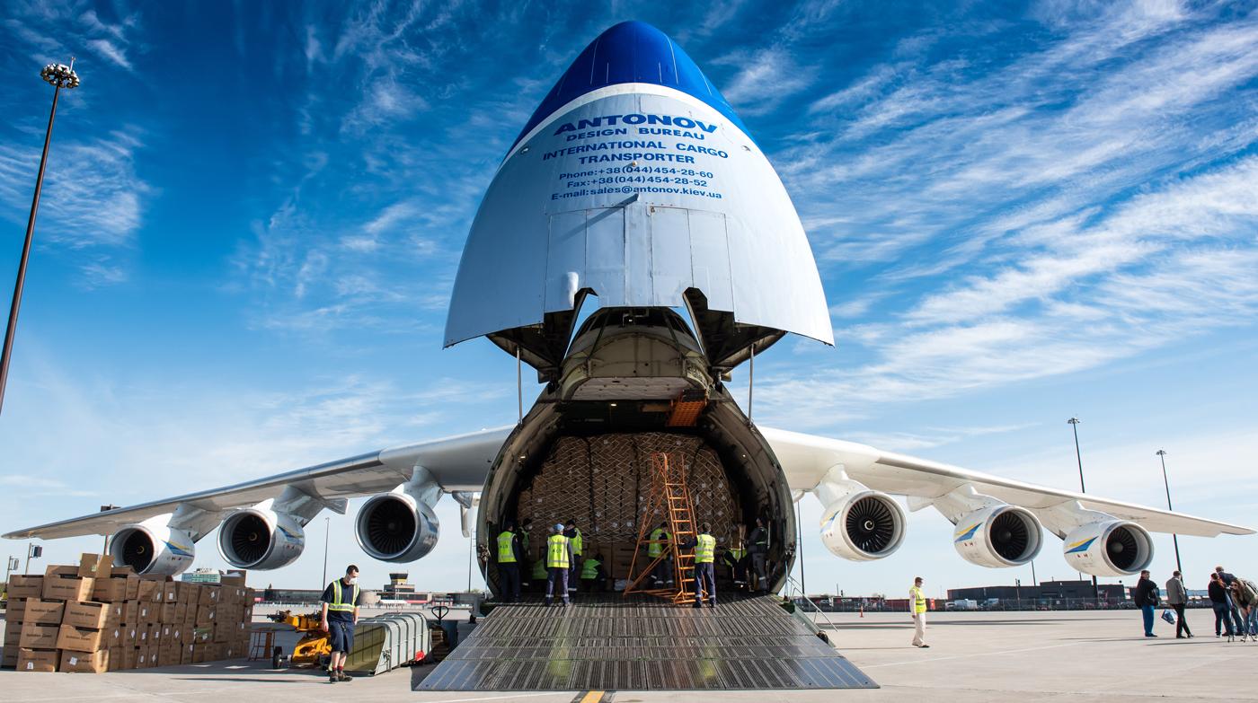 موتورهای نصبشده بر روی هواپیماهای مسافربری و ترابری آنتونوف [فیلم]