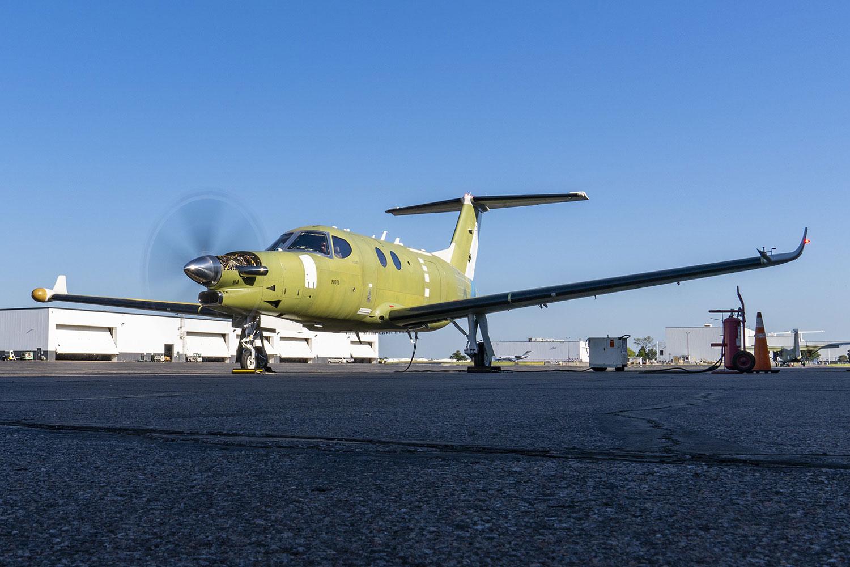 اولین آزمایشهای زمینی موتور کاتالیست نصبشده بر روی هواپیمای دنالی